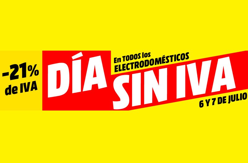 Día Sin Iva De Mediamarkt 29 De Octubre Bilbondo