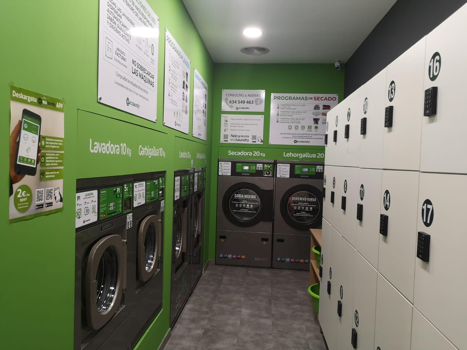 Ecolaundry lavanderia ecologica Bilbondo