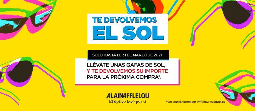 Alain Afflelou - promoción gafas de sol
