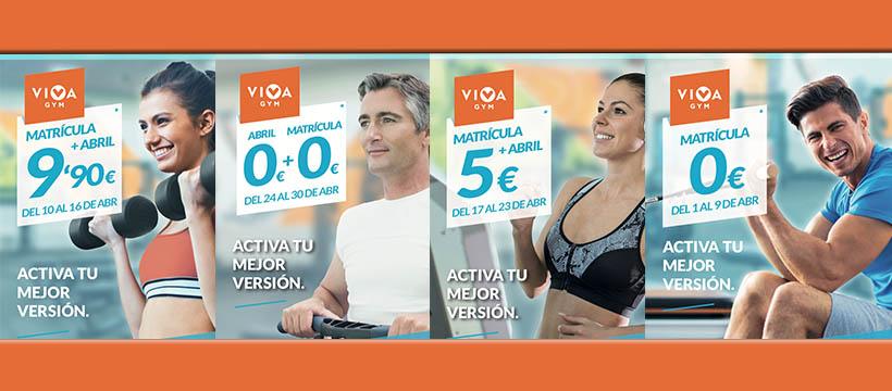VivaGym - Ofertas Abril